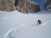 Location: Sella, forcella Pordoi, Dolomites - Rider: Beppe Dallona