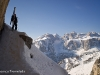 Location: climbing the Sassongher, Dolomites - Rider: Luca Mariani