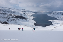 Iceland skitouring trip