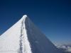 Monte Rosa tour, Castore 4221 m traverse