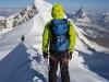 Monte Rosa tour, Punta parrot 4432 m traverse