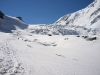Monte Rosa tour, Grenz glacier